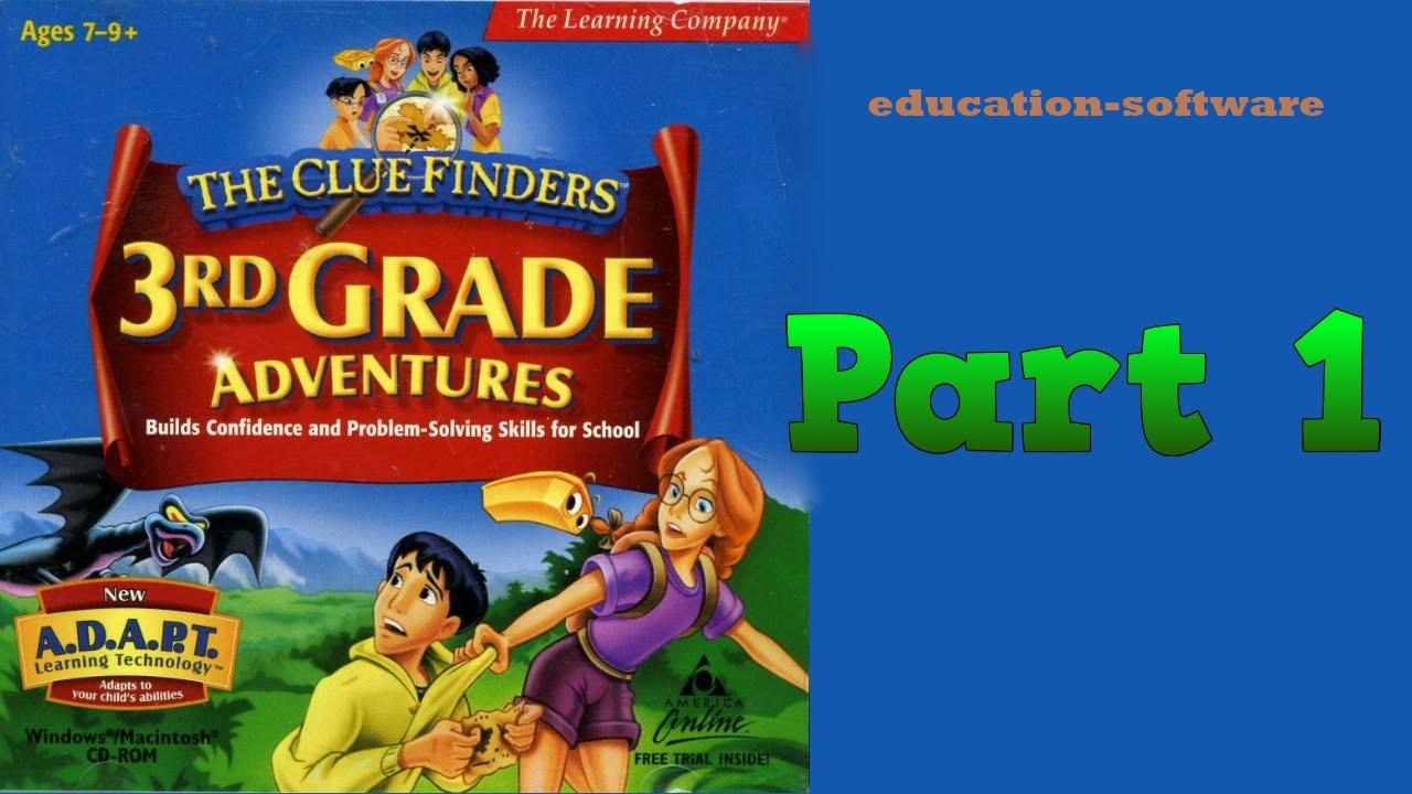 ClueFinders Aplikasi Edukasi Dan Belajar Yang Dibuat Oleh The Learning Company
