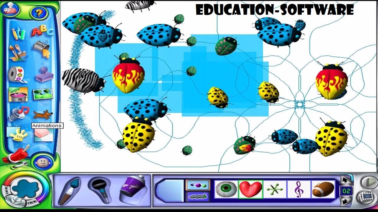 Kid Pix Pengembangan Program Software Edukasi Dari Macintosh